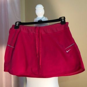 Nike pink running skirt. Size small